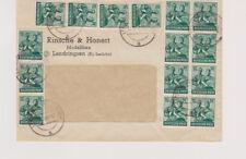 All.Bes./10-fach, Mi.949 (15), Lendringsen Kr Iserlohn 22.6.48
