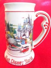 Walt Disney World Beer Stein Mug Disney Castle Magic Kingdom Theme Park