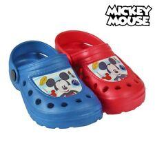 Sabots de Plage Mickey - Sandales de bain Couleur - Rouge, Taille des chaussure