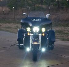 6000K LED Auxiliary Lamps Lights Kit for Harley-Davidson Trike (all years)