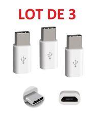 3 X USB Art C Mikro USB