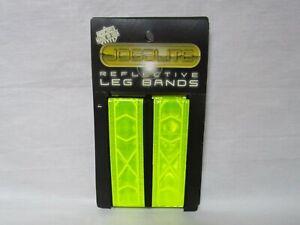 Jogalite Yellow Reflective Leg Bands NEW