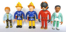 Fireman Sam 5 Figure Fully Articulated Figure Collections Playset Toy
