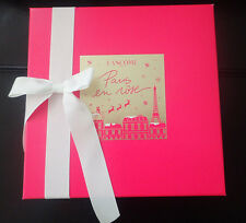 Lancome Gift Box with Ribbon EMPTY - NEW