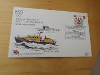 RNLI first day stamp cover 105 dedication of RNLB city of london