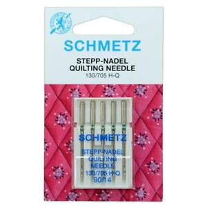 Schmetz Quilting Sewing Machine Needles Size 90/14 Pack of 5