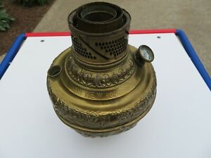 Antique Brass New Rochester Oil Lamp Font