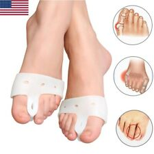 4PCS Hallux Valgus Corrector Toe Separators Protector Bunion Splint Straightener
