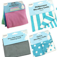 Microfibre Cleaning Cloth Towel Kitchen Dry Polishing Valeting Duster Home Car