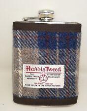 Harris Tweed Hip Flask 8oz FREE POSTAGE