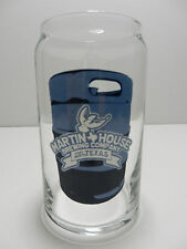 Martin House Brewing Company Can Shaped Beer Glass Ft. Worth Texas Craft Brewery