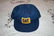 Vintage CAT Caterpillar Diesel Power Patch Snapback Hat Cap USA MADE NEW