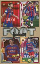 Messi  FC Barcelona   Megacracks 2015-16-17  PANINI - 4 Cards Fresh Package-
