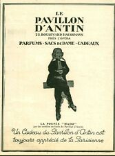 Publicité ancienne le Pavillon d'Antin  la poupée Mado issue de magazine 1924