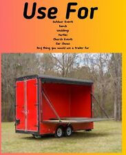 Enclosed Trailer For Stage Or Cargo