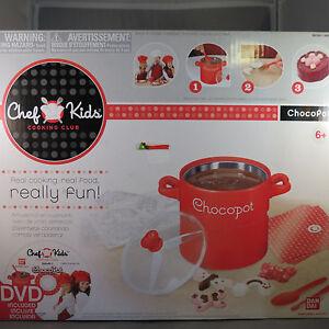 Bandai Chef Kids Cooking Club ChocoPot Chocolate Melting Pot Kit w/ DVD kitchen