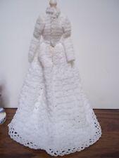 Handmade Wedding Dress For Teen Doll Barbie