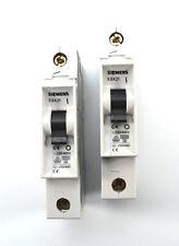 2x Siemens 5SX2 104-7 Leitungsschutzschalter C4 1 P MCB 1pol. 5SX2104-7 C 4 NEU