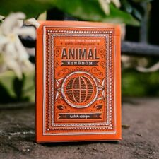 1 Deck of Animal Kingdom Playing Cards Poker Magic Collectible Deck by Theory11