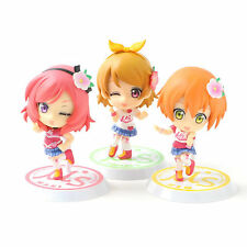Love Live! Chibi Kyun Chara Happy maker! Vol.2 x3 Figures BANPRESTO. Nuevo, New.
