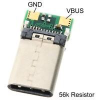 USB3.1 TypeC-Anschluss 24-poliger Buchsenadapter für Lötdraht JJKAXUI