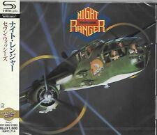NIGHT RANGER SEVEN WISHES JAPAN 2011 RMST SHM HIGH FIDELITY FORMAT CD