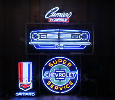 Wholesale Lot 4 Neon Sign Camaro Z/28 Chevorlet Chevy Z28 Muscle Car Garage Lamp