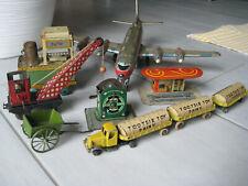 Blechspielzeug / Konvolut verschiedener Modelle und Hersteller