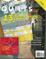 Modern Quilts Unlimited Magazine 13 Sunny Spring Projects Fresh Prints And Color