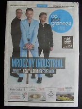 DEPECHE MODE on front cover CO JEST GRANE 24 in. Amy MacDonald