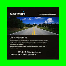 GARMIN CITY NAVIGATOR AUSTRALIA & NEW ZEALAND NT 2018.10 THE LATEST MAP GPS