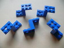 Lego 5 pieces de voitures bleues set 8495 9404 5765 6044 / 5 blue bracket