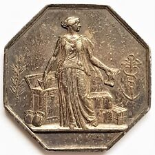 Jeton de la Banque de Marseille argent 1836