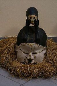 Antica e rara maschera africana