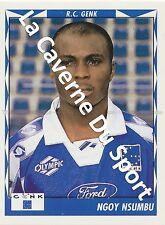 N°137 NGOY NSUMBU # CONGO RC.GENK STICKER PANINI FOOTBALL 1999