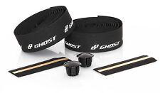 GHOST Bikes Handlebar Tape Lenkerband mit Endkappen schwarz / weiß