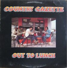 COUNTRY GAZETTE, OUT TO LUNCH - FLYING FISH LP