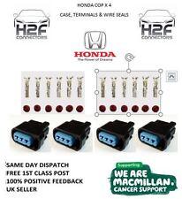 4 x Honda K Series Pencil Coil Plug Connectors COP Civic, Acura, S2000,(BLANKS)