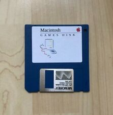  Macintosh Games 400K NEW Floppy Disk (for 128K & 512K)