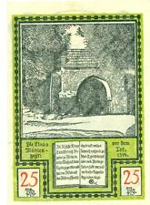 OLD GERMANY EMERGENCY PAPER MONEY - NOTGELD Soldin 1921 25 Pf