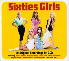 Sixties Girls by Various Artists (3 CD's 2014, Not Now Music NOT3CD160, Import)