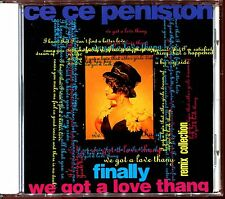 CE CE PENISTON - FINALLY / WE GOT A LOVE THANG - REMIX COLL. - JAPAN CD [1380]
