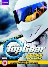 Top Gear - Series 19 and Series 20 Boxset [DVD] New UNSEALED MINOR BOX WEAR