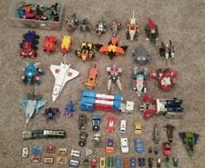 HUGE TRANSFORMERS LOT!  Generation 1 1980's Collection, Hasbro G1