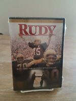 Rudy (DVD, 2000, Special Edition) / New! / Sealed! / Free Shipping!