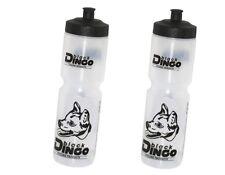 2 Stück Black Dingo Trinkflasche 1000ml Sportflasche 1 Liter für Flaschenhalter