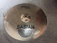 """16"""" Sabian AA Dark Crash Cymbal **NICE**"""
