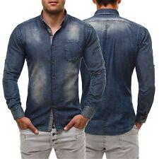 Figurbetonte Herren-Freizeithemden & -Shirts aus Denim
