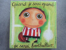 "cadre 15x15 série ""Quand je serai grand,je serai...""création Isabelle Kessedjian"