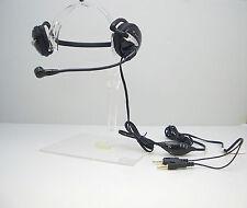Plantronics Audio 345 Behind-The-Head Skype MultiMedia Headset in Bulk Package